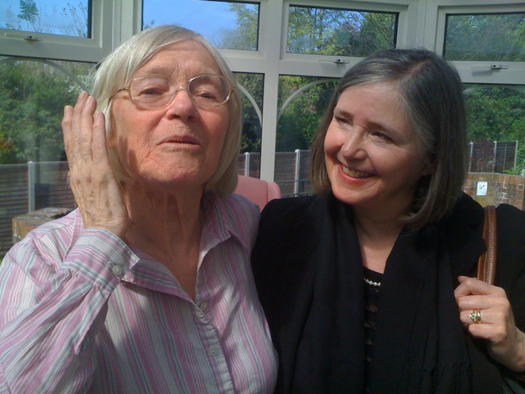 Liz and Carmel, 2014
